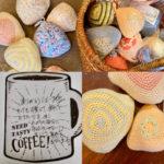 乳がん全摘した人のための編みパッド。お礼の感想が届きました。